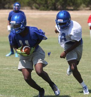 Copperas Cove High School Football Practice