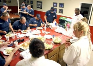 Olive Garden Feeds Firefighters/Emergency Personnel