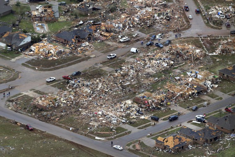 Oklahoma tornado aftermath