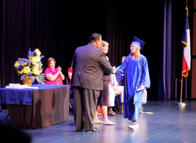 Crossroads High School graduation ceremony