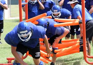 Lampasas two-a-days underway