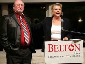 Hallbauer earns chamber's Beltonian Award at banquet