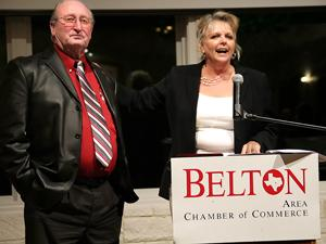 Hallbauer earns chamber's Beltonian Award at banquet
