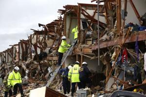 APTOPIX Plant Explosion Texas