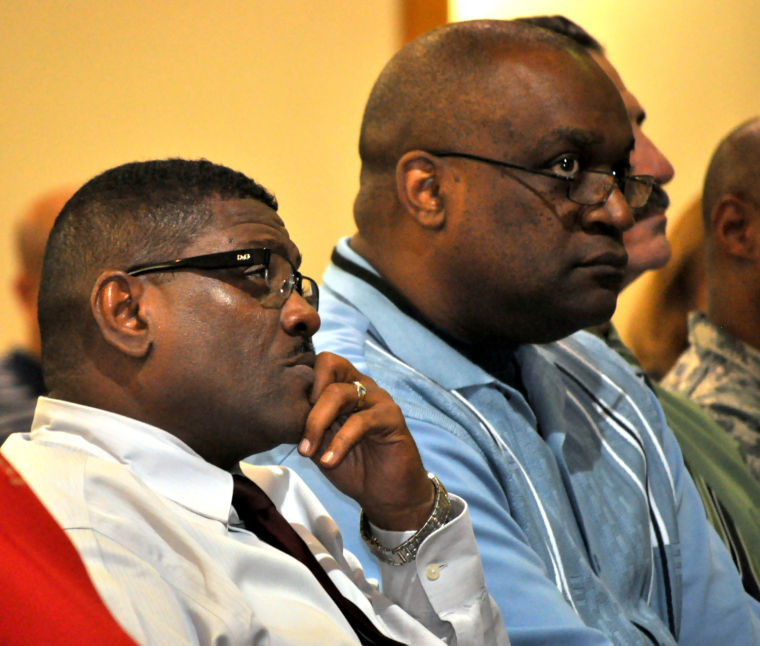 Fort Hood garrison town hall meeting