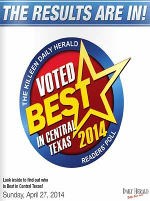 The 2014 Best in Central Texas Business.