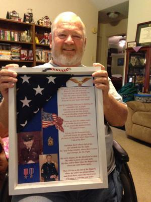 Retired Command Sgt. Maj. Danny Palmer