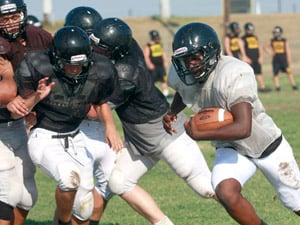 Gatesville football practice