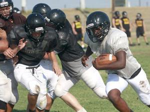 Gatesville football practice