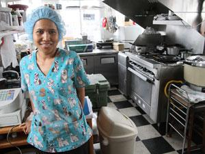 Ms. Thai serves a variety of dishes in Cove