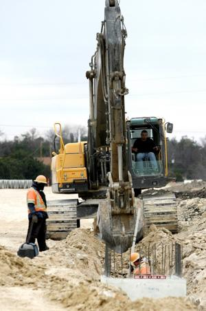 FM 2657 Construction Underway