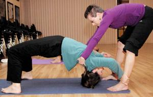 Hindu Temple hosts yoga classes to help participants attain health, inner peace