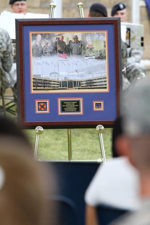 Guidon Field Renamed in Honor of Brig. Gen. Terence J. Hildner