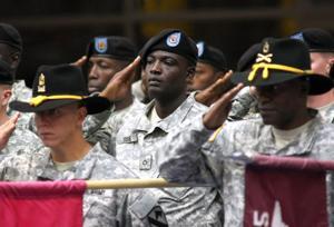 CSM Benjamin Jones heads to 25th Infantry Division