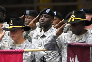 CSM Benjamin Jones heads to 25th Infantry Division