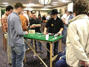 Officers' Spouses' Club raises more than $20,000 at annual Wild West Casino Night