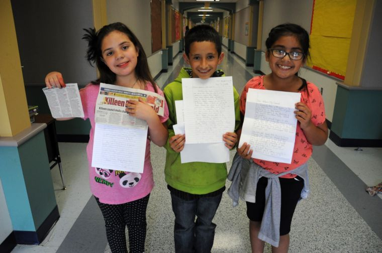 Fourth-grade letters