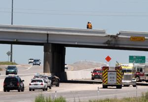 Clear Creek Bridge traffic accident