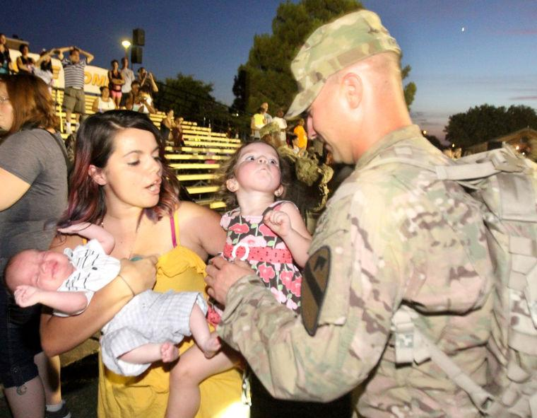 4th Brigade Combat Team, 1st Cavalry Division Homecoming Ceremony