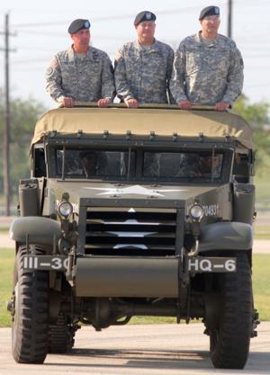 4th Sustainment Brigade change of command ceremony