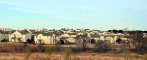 Fort Hood Housing: Commanche III Village is seen at sunset Dec. 30 at Fort Hood. - Bryan Correira | Herald