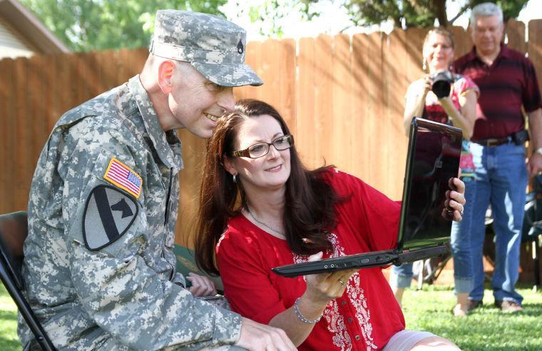 WTB soldier promotion ceremony