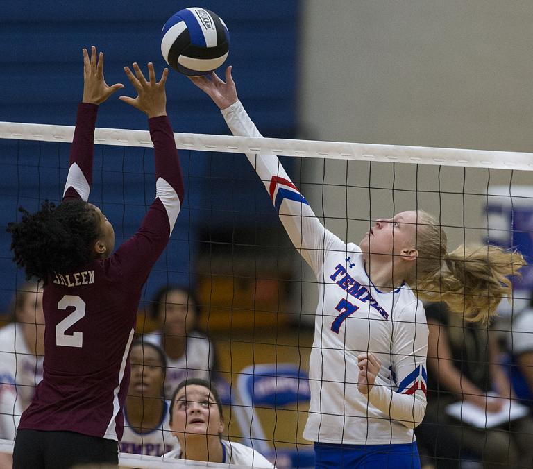 VOLLEYBALL: Lady Roos unable to gain revenge in Temple