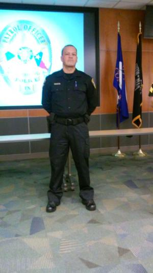 New Cove officer