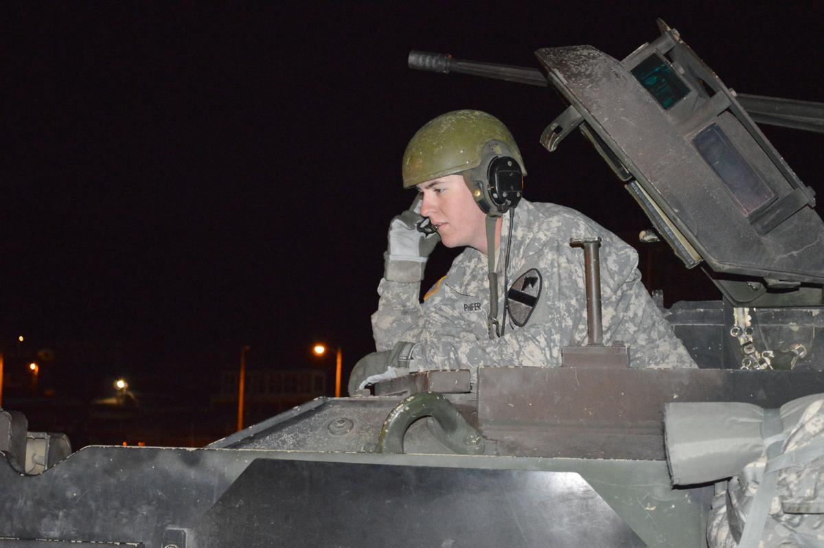 Emergency combat deployment exercise