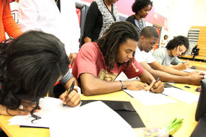 Higher-level hoops: Heights athletes sign letters for college basketball