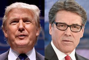 Trump rules out Rick Perry as running mate