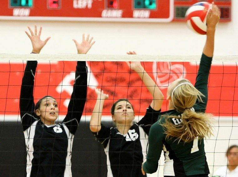 Heights sweeps Ellison 3-0