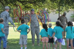 Gatesville Elementary field day