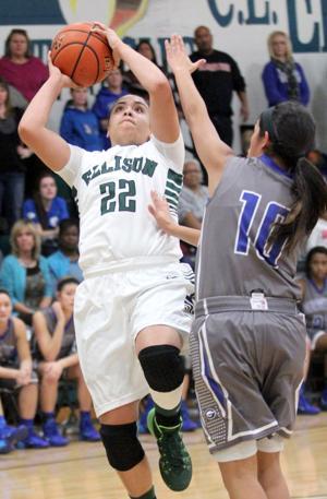 Ellison vs Georgetown Girls Basketball