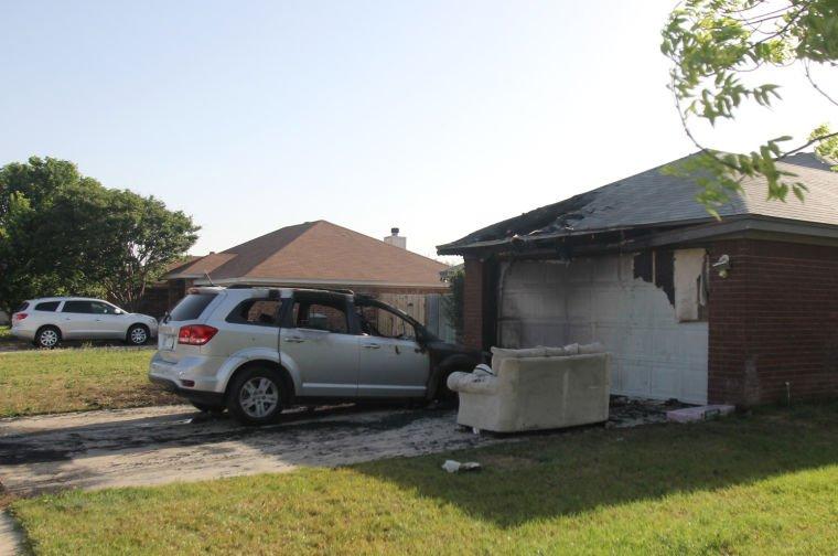 House and Vehicle Fire