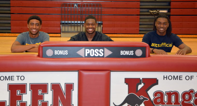Killeen High signing ceremony