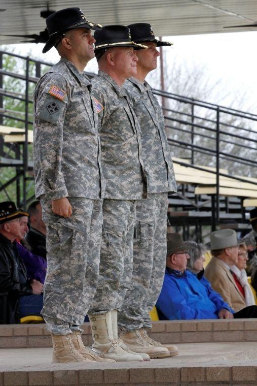 Brigade welcomes new command team
