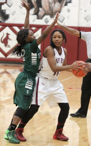 Shy no more, Johnson coming through for Lady Roos