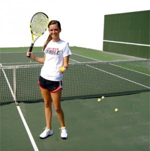 Serving for her dad: Salado's Reed preps for 2A state tourney