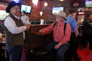 Business owners mingle at Red's in Heights