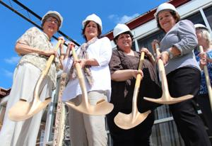 Lampasas Library Groundbreaking