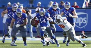 <p>Former Killeen Kangaroo Michael Cummings is the starting QB for Kansas.</p>