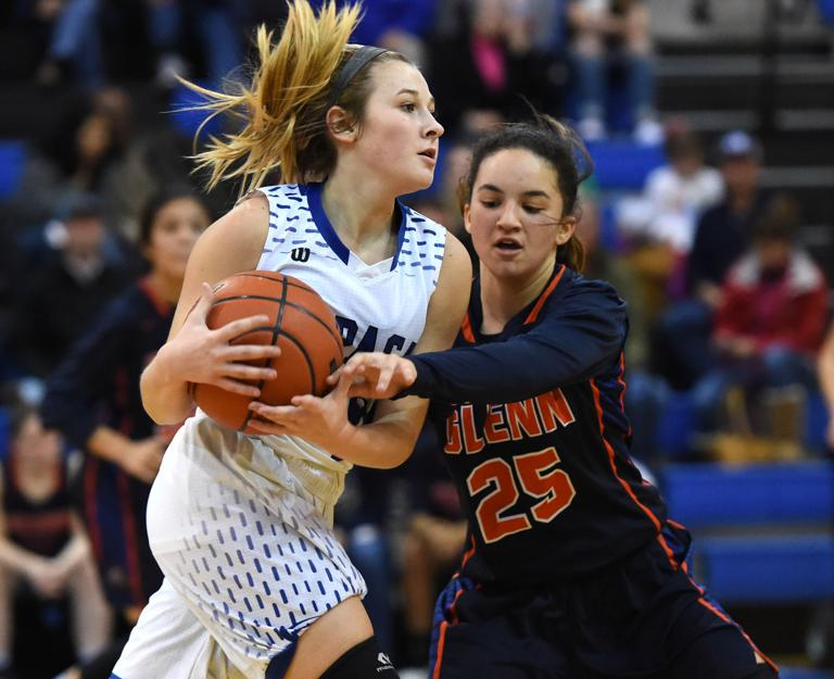 19-4A BASKETBALL: Theus does it all in Lady Badgers' rout of Glenn