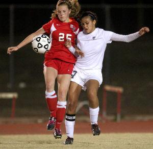 Belton vs Harker Heights Girls Soccer