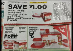 Dollar General Rubbermaid Products on sale!