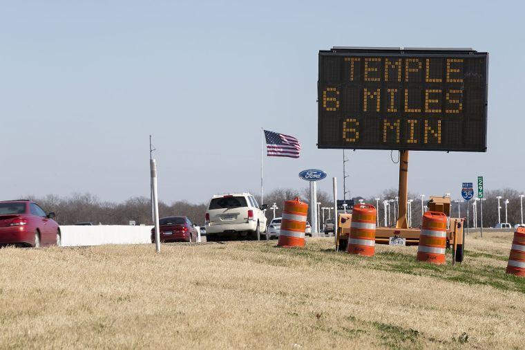 I-35 travel times