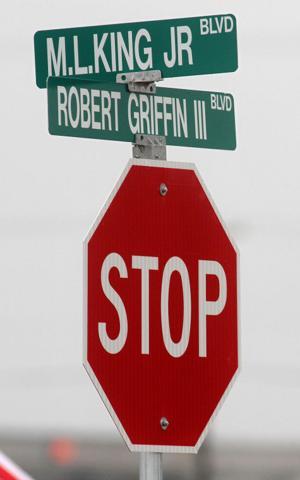 RGIII Boulevard Dedication