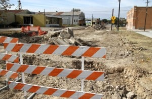 Lampasas Fourth Street Construction