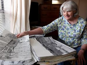 Nursing home resident's artwork to be displayed