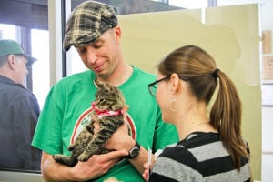 Animals find new homes during pet adoption event